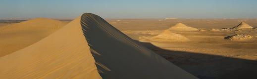 Golden sand in Sahara desert in Egypt royalty free stock image