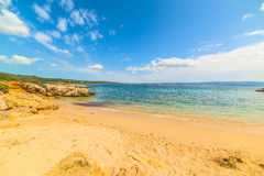 Golden sand in Sardinia Royalty Free Stock Photos