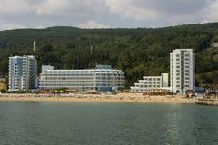 Golden Sands. Popular summer resort Golden Sands, Bulgaria Stock Images