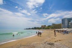 Golden Sands Beach Resort, Bulgaria Royalty Free Stock Photography