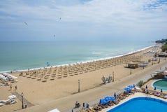 Golden Sands Beach Resort, Bulgaria Stock Image