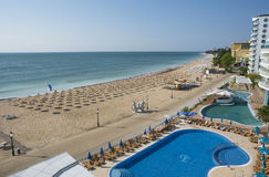 Golden Sands Beach Resort, Bulgaria Stock Photography