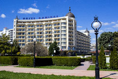 GOLDEN SANDS, BULGARIA Hotel Admiral royalty free stock photos