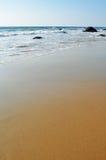 Golden Sands of El Matador Beach, Malibu Stock Photo