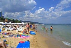 Golden Sands resort beach Royalty Free Stock Photo