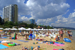 Golden Sands resort beach Royalty Free Stock Images