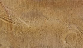 Golden sandstone Stock Photography