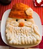 Golden Santa Bread Stock Photography