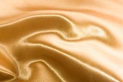 Golden satin Royalty Free Stock Photo