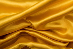 Golden satin Royalty Free Stock Images