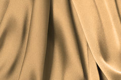 Golden Satin Stock Photography
