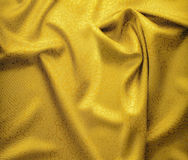 Golden satin contains floral ornament Royalty Free Stock Image