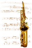 Golden Sax Stock Image