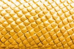 Golden scale of naga statue, Texture Stock Photos