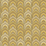 Golden scale pattern Stock Photo