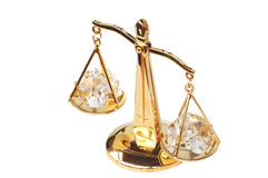 Golden Scales Stock Photo