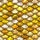 Golden scales Stock Photography