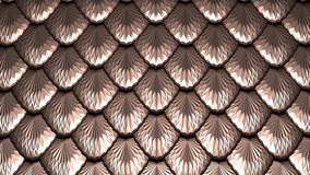 Golden scales textured abstract background 3D illustration. Golden scales horizontal textured abstract background 3D illustration vector illustration