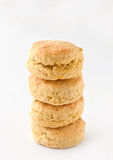 Golden scones Royalty Free Stock Images