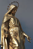 Golden sculpture Stock Photo