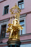 Golden Sculpture Stock Images