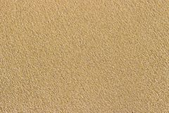 Golden sea sand. Sand texture. Sandy beach for background. Top view stock photo