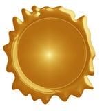 Golden seal Stock Photo
