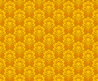 Golden Seamless Background Stock Image