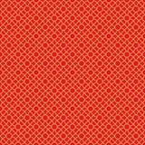 Golden seamless Chinese window tracery lattice cross round circle pattern. Royalty Free Stock Photography