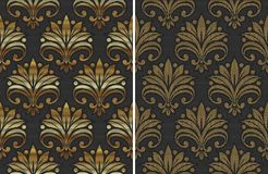 Golden seamless pattern Royalty Free Stock Photography