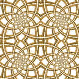 Golden Seamless Pattern. Golden Picture Frames Seamless Pattern Stock Images
