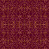 Golden seamless pattern Stock Photos
