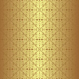 Golden seamless Wallpaper Stock Photo