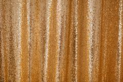Golden Sequence Beaded Background Glitter Pattern stock image