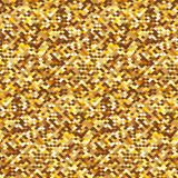 Golden sequins. Seamless background with golden sequins. Vector illustration Royalty Free Stock Photo