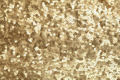 Golden sequins Royalty Free Stock Image