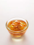 Golden shallot oil Royalty Free Stock Photo