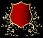 Golden shield Royalty Free Stock Photo