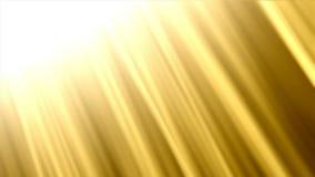 Golden shine stock footage