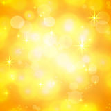 Golden shining festive background Royalty Free Stock Photo