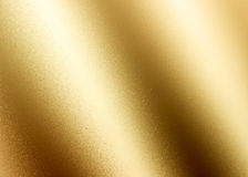 Golden shiny abstract metallic textured background Stock Photography