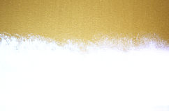 Golden shiny holiday celebration background. Design with place for your text. Stock Photo