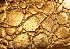 Golden shiny texture Royalty Free Stock Photos