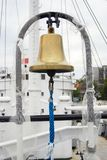 Golden ship bell Royalty Free Stock Photo