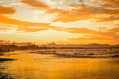 GOLDEN. Shoot in Byron Bay Australia, one day in dreamland Royalty Free Stock Image