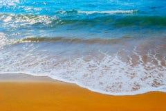 Golden shore in Porto Ferro Royalty Free Stock Photography