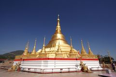 Golden Shwedagon Pagoda Stock Photo