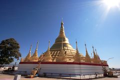 Golden Shwedagon Pagoda Royalty Free Stock Photos