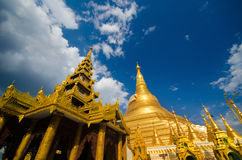 Golden Shwedagon Paya Royalty Free Stock Image