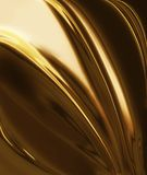Golden silk Royalty Free Stock Images